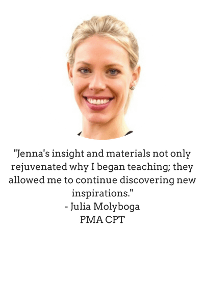 testimonial from Julia Molyboga